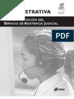 Guía Administrativa para la prestacion del servicio de asistencia judicial en la Republica Dominicana