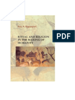 Roy a. Rappaport - Ritual and Religion in the Making of Humanity (Portada Libro)