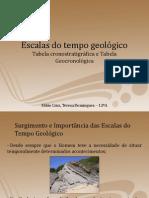 Escalas do tempo geológico