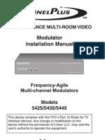 Channel Plus Manual