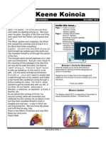 Church Newsletter- December 2011