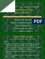 Presentation Aspect.net - Vladimir Safonov