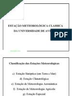 CIN_estação Meteorológica Clássica Da UA