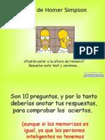 Test de Homer-1892