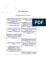 Software Testing Glossary2