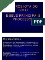1 CEMARH 2007 Microbiologia Do Solo