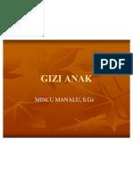GIZI ANAK