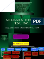 Millennium short presentation November 2006