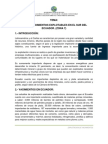 Explotacion de Yacimientos Ecuador