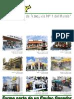 Brochure Franquicia Subway