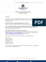 Marquette University Completion