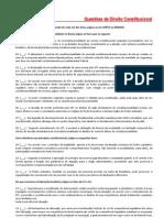 Questoes de Direito Constitucional(1)