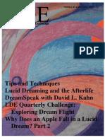 The Lucid Dream Exchange Magazine Issue 41