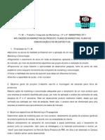 Regulamento Tim 3o e 4o Semestres2011 (1)