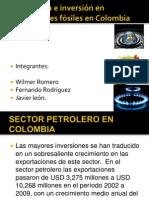 Combustibles fosiles en colombia.