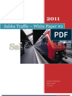 Sabka Traffic White Paper #2