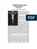 Santa Mariana de Jesús