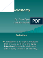 Colostomy & Colostomy Care