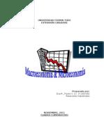 cuadro microeconomía y macroeconomía