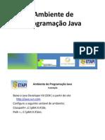 Ambiente de Programacao Java