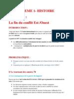 THEME 1 Chapitre 4 La Fin Du Conflit
