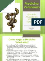 Áreas de Atuação do Médico Veterinário