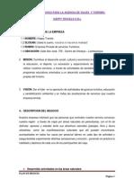 Plan de Negocio Para La Agencia de Viajes y Turismo[1][1]