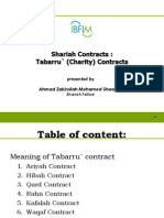 Tabarru'at Contract-zakirullah Ibfim Portal