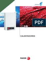 Catalogo Calentadores Fagor