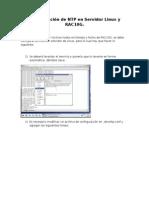 Configuración de NTP en Servidor Linux y RAC10G