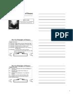 2Class Notes - The Ten Principles of Fina