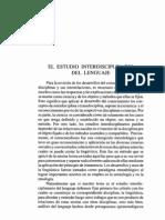 El Estudio Interdisciplinario Dellenguaje