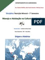 SEMINARIO - ALGODÃO