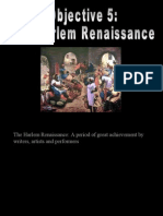 Objective 6 - Harlem Renaissance