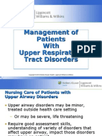 Chapter 22 Upper Respiratory Disorder