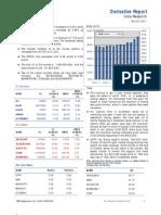 Derivatives Report 23rd November 2011