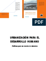 Ferrari. Urbanizacion Para El Desarrollo Humano