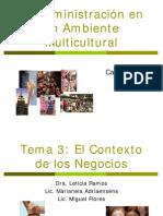 La Administración en Un Ambiente Multicultural
