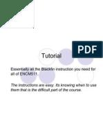 08 Black Fin Code Tutorial