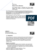 Costos I Presentaciones 2008 UII