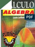 Algebra y Calculo de Louis Leithold
