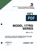 Parts Cat 177RG 1971-1978