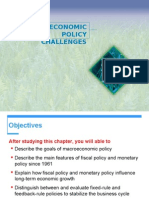 Macro Economic Policy Challenges