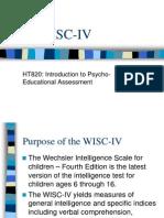 WISC4 Presentation[1]