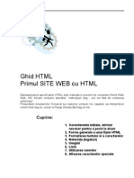 Ghidul HTML