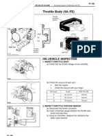 4A-FE Throttle Adjustments