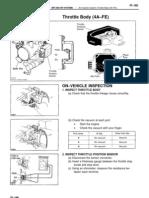 4A-FE Throttle Adjustments