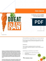 Raw Vegan Recipe FREE eBook