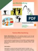 Fashion Merchandising TD