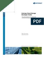 Inter Nap Cloud Storage Developer Guide
